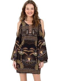5f64225c0 Vestido Farm Curto Preto - Vestidos com o Melhores Preços no Mercado ...