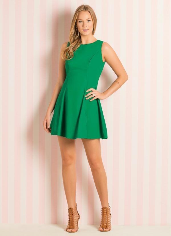 e4f6242743 vestido evasê verde curto feminino casual festa balada. Carregando zoom... vestido  curto feminino. Carregando zoom.