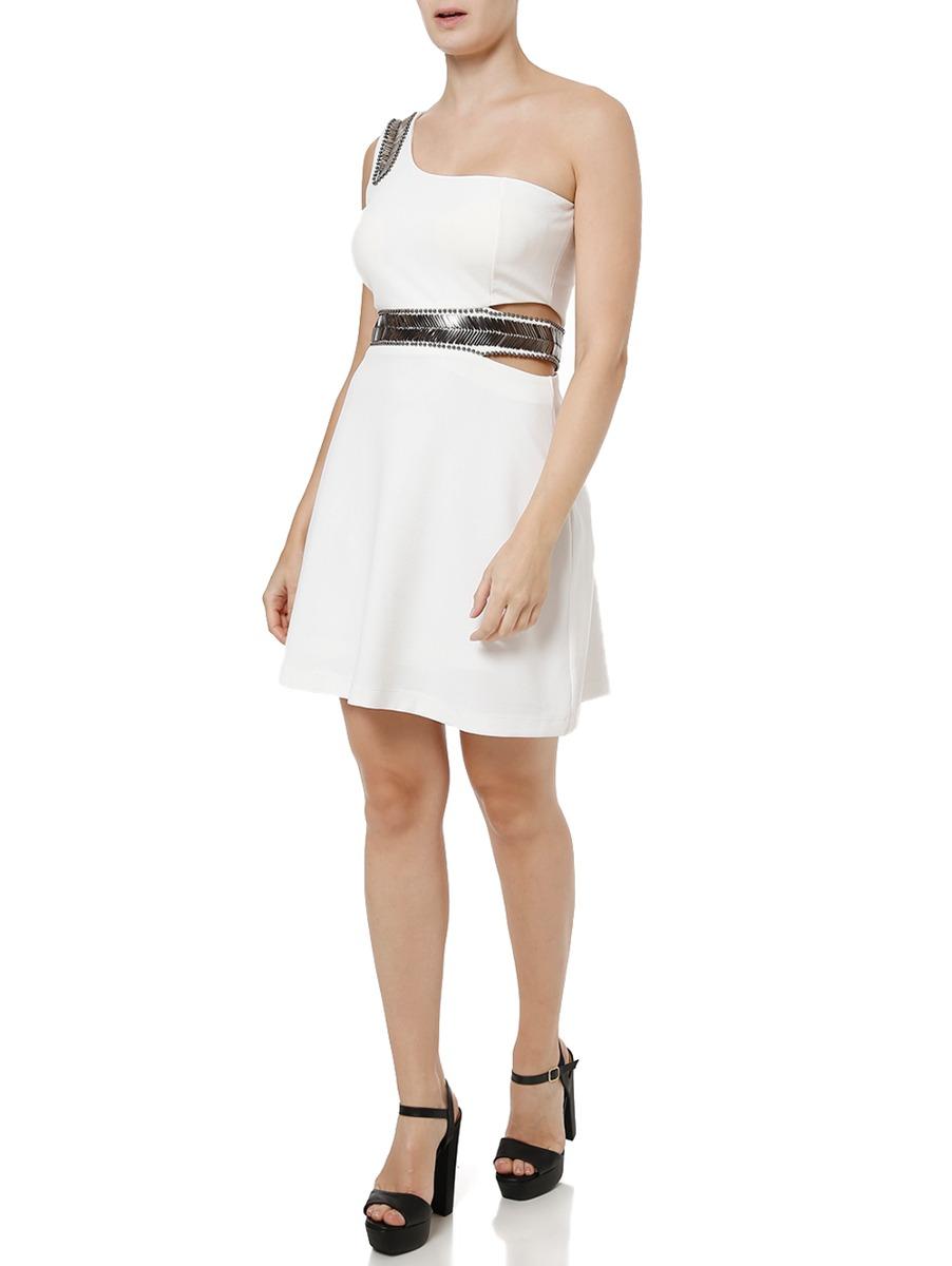d827322d5a vestido curto feminino autentique off white. Carregando zoom.