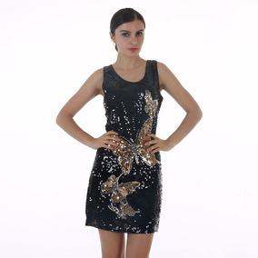 2b5f79a11 Vestido Paete Curto - Vestidos De Festa Curtos Femininas no Mercado Livre  Brasil