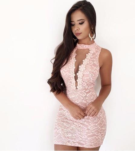 vestido curto festa feminino
