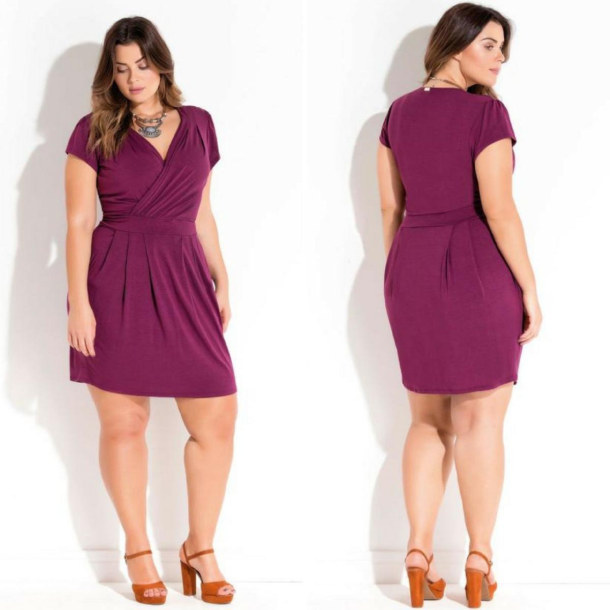 0d8cd0d4e vestido curto gordinha plus size poderosa elegante de luxo. Carregando zoom.