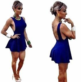 3999b2fd9 Vestido Juju Salimeni - Vestidos Curtos Femininas no Mercado Livre Brasil