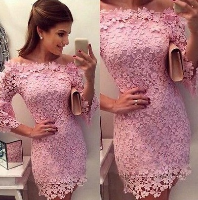 Vestidos lindos de renda para festa