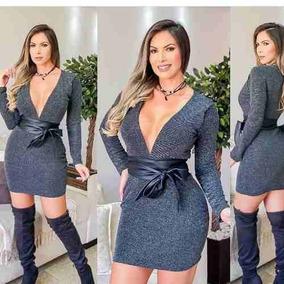 c6f0f23178 Vestidos Em Tecido Lurex no Mercado Livre Brasil