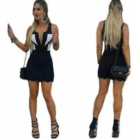 d8c80494dd92 Vestido Curto Moda Blogueira Instagram Panicat Bicolor