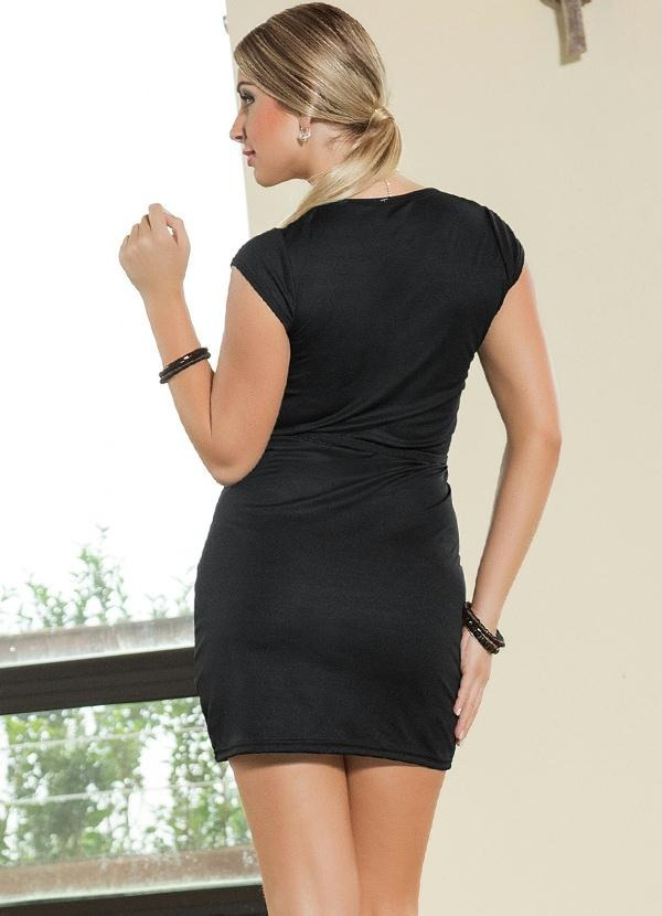 933d9a554 vestido curto preto festa detalhe tule manga curta fragata. Carregando zoom.