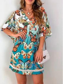 73465e5e0 Vestido Inspirado Farm - Calçados, Roupas e Bolsas com o Melhores Preços no  Mercado Livre Brasil