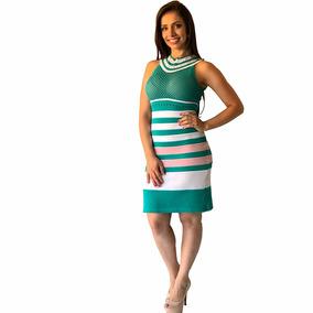 8cb7e5677 Doce Paix o Vestido De Renda Listrada - Vestidos Curtos Femininas ...