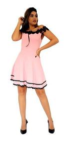 46a38db7bb Vestido Jacquard - Vestidos Femeninos Curto com o Melhores Preços no ...