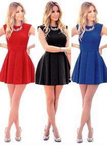 8f2b85d553 Vestidos Curtos Lindos - Vestidos Casuais Curtos Femininas no Mercado Livre  Brasil