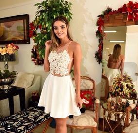24546a3f1d Vestido Preto Com Detalhes De Correntes - Vestidos De Festa Curtos  Femininas no Mercado Livre Brasil