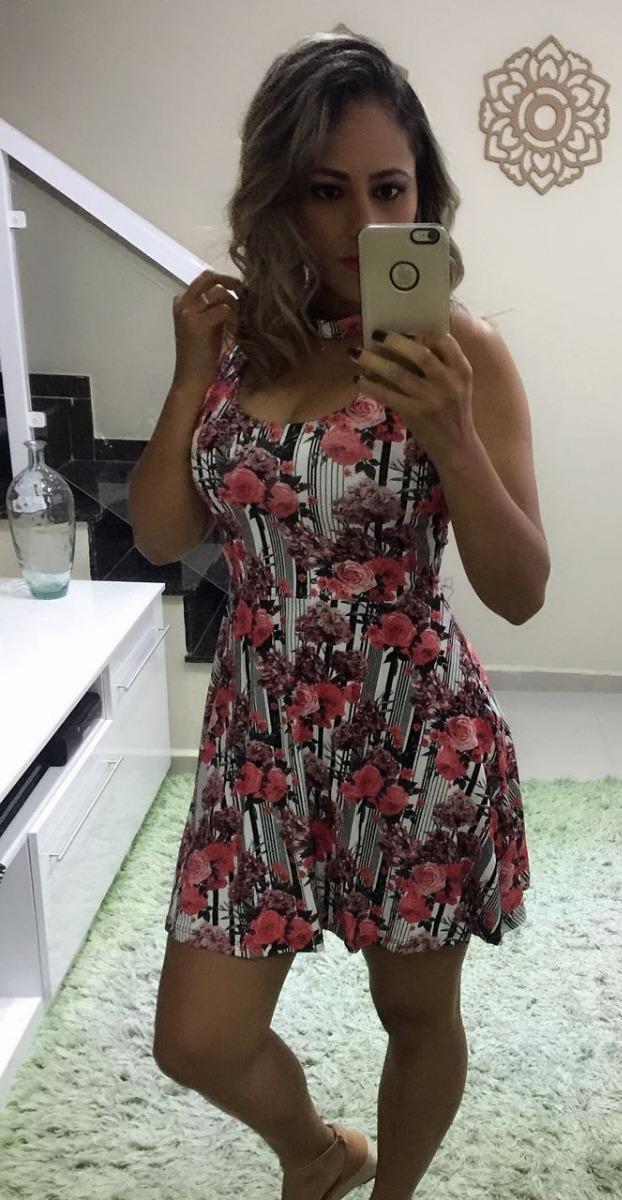 51478ba4e Vestido Curto Rodado Lindo Panicat Festa Moda Princesa Top - R  64 ...