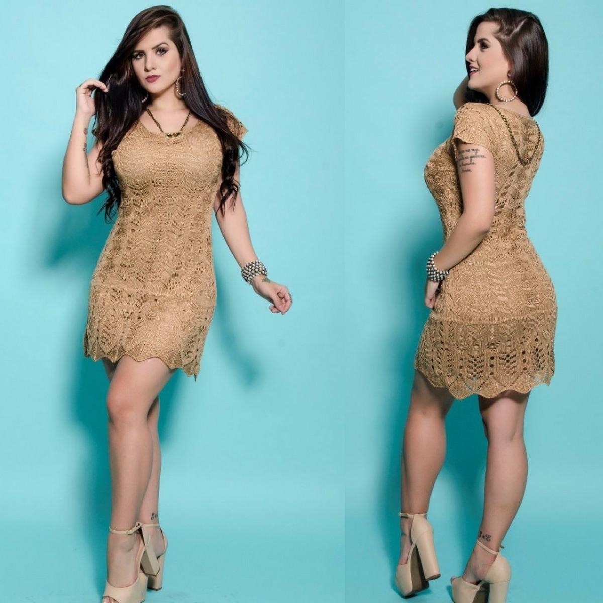 866b0473e791 vestido curto soltinho básico para formatura tricot trico. Carregando zoom.
