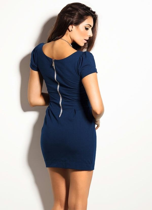 72350b8e08 vestido curto tubinho azul marinho promoção verão 2018. Carregando zoom.