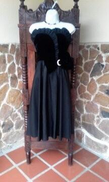 vestido d fiesta elegante largo t:s