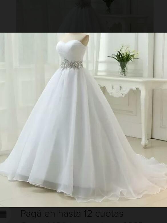 vestido d novia a medida - $ 10.500,00 en mercado libre