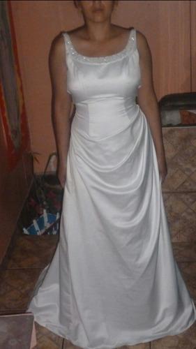 vestido d novia talla s urge vender bonito y negociable