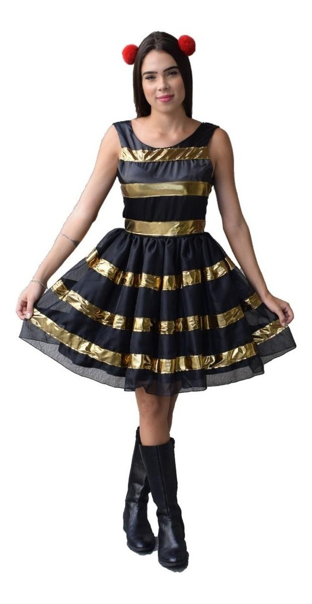 e1620fe85ba6 Vestido Da Boneca Lol Fantasia Adulto - R$ 98,90 em Mercado Livre