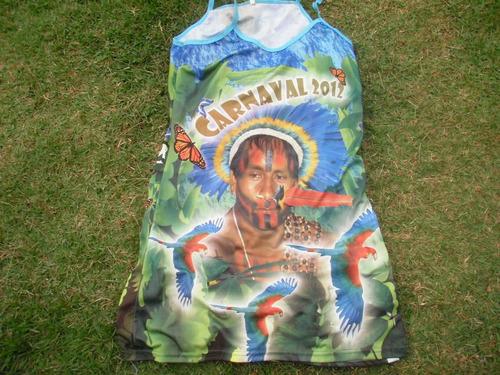 vestido da escola de samba nações unidas