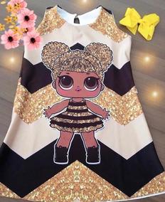 Vestido Da Lol Queen Bee E Outros ótima Qualidade