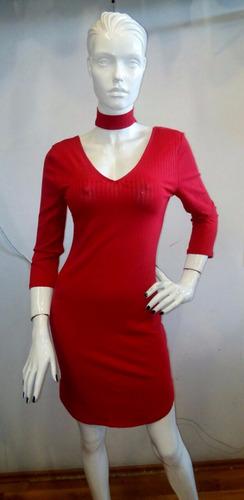 vestido dama 02 rojo