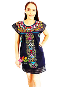 Vestidos Mexicanos Modernos Vestidos M En Mercado Libre México