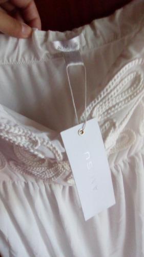 vestido dama casual corto blanco cóctel civil importado