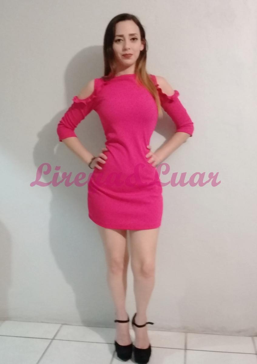 Vestido Dama Casual Fiusha - $ 220.00 en Mercado Libre