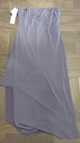 vestido dama con aberturas a los lados