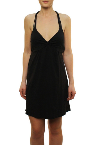 vestido dama corto roxy (moonlight dancing so) talla m