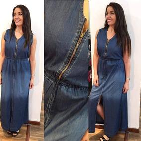 d7cd9fbfc Vestido Largo Para Embarazada En Jeans Ropa Accesorios Mujer - Ropa ...