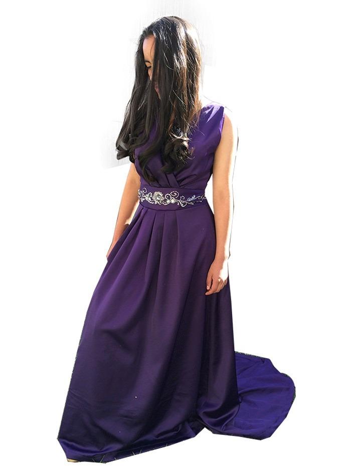 Vestido Dama Largo Fiesta Graduacion - $ 1,400.00 en Mercado Libre