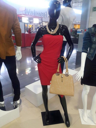 vestido dama rojo de fiesta