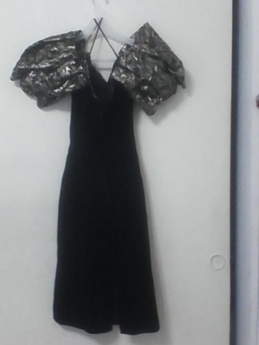 vestido dama terciopelo fiesta marca carlis boutique