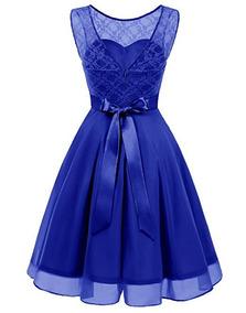 Vestidos De Damas De Honor Color Azul Rey Vestidos