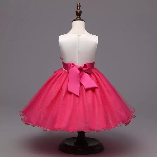 vestido daminha florista princesa  menina infantil importad