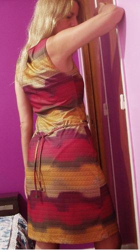 vestido daniel cassin ropa dama nuevo falda ajustada recta
