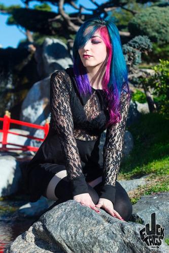 vestido dark dream encaje - fuck tags