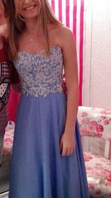 065a59107 Falda Larga Mexicana - Vestidos de Mujer Azul acero en Mercado Libre ...