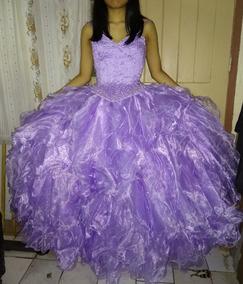 7b17b8191 Vestido Falda Corset Color Lila 15 Anos Strapless - Vestidos de ...