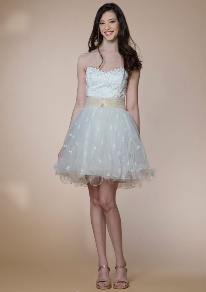 vestido de 15 años corto - modelo amelie - $ 4.430,00 en mercado libre