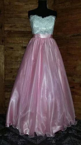 vestido de 15 años desmontable a corto!!  modelo a eleccion