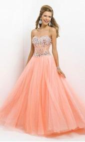 d51a63d60e Vestido De 15 Años Salmon Vestidos Mujer - Vestidos en Mercado Libre ...