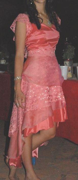 056d424c2 Vestido De 15 Años Romántico Color Rosa Salmón