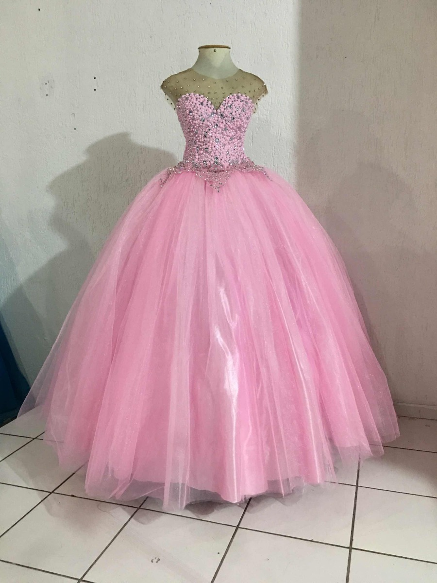 Vestido de color rosa - 1 8