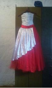 Vestidos de 15 rojos con blanco