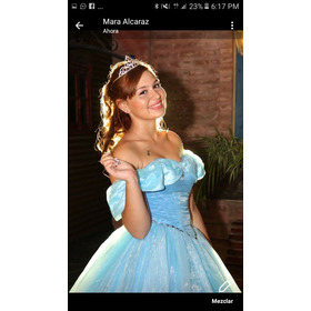 Vestido De 15 Cenicienta Alquiló...!!!