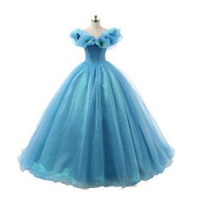37cd7318c1 Vestido 15 Azul - Vestidos de 15 Largos de Mujer en Mercado Libre ...