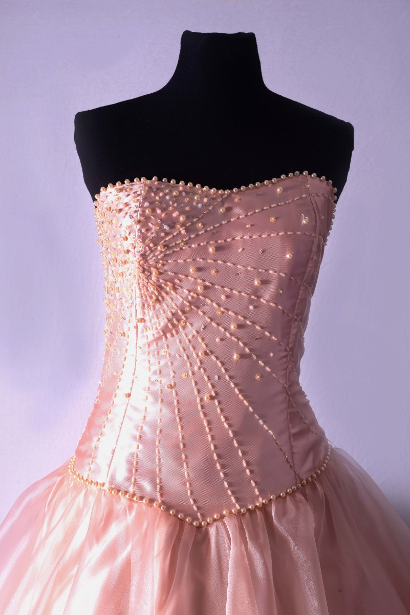 Vestidos De 15 Color Salmon - Vestidos de 15 Largos de Mujer con Con ...